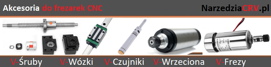 Akcesoria do frezarek CNC