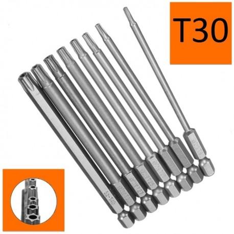 Bity długie Torx T30x150mm