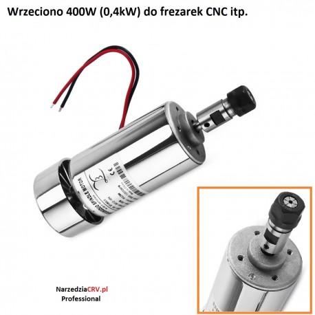 Wrzeciono Elektrowrzeciono 400W (0.4kW) Do frezarki CNC ER11