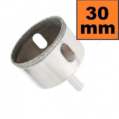 Otwornica diamentowa 30mm Wiertło do GRESU Płytek