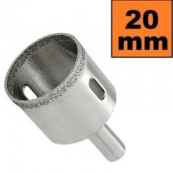 Otwornica diamentowa 20 mm Wiertło do GRESU Płytek