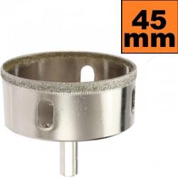 Otwornica diamentowa 45mm Wiertło do GRESU Płytek