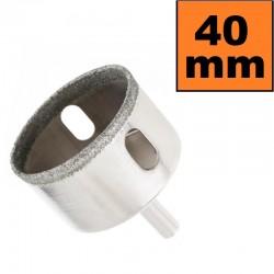 Otwornica diamentowa 40mm Wiertło do GRESU Płytek