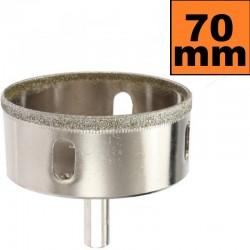 Otwornica diamentowa 70mm Wiertło do GRESU Płytek