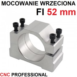 Mocowanie wrzeciona uchwyt CNC FI52 mm