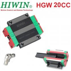 Wózek HGW20CC HIWIN Prowadnica liniowa do CNC