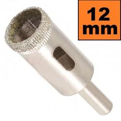 Otwornica diamentowa 12mm Wiertło do GRESU Płytek