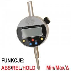 Czujnik zegarowy elektroniczny 0.01 12.7mm Cyfrowy Funkcyjny