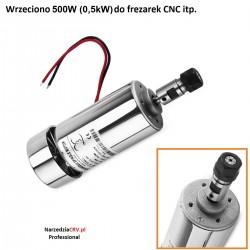 Wrzeciono Elektrowrzeciono 500W (0.5kW) Do frezarki CNC ER11