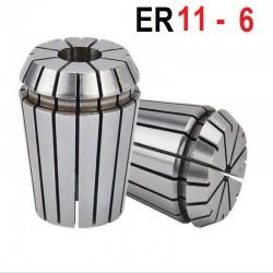 Tuleja zaciskowa ER11 FI 6 tulejka precyzyjna CNC