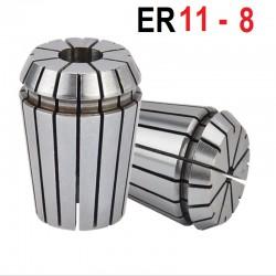 Tuleja zaciskowa ER11 FI 8 tulejka precyzyjna CNC