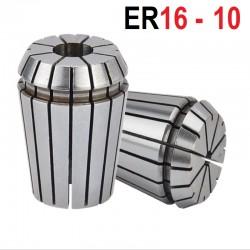 Tuleja zaciskowa ER16 FI 10 tulejka precyzyjna CNC