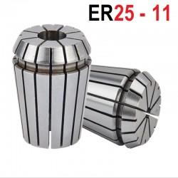 Tuleja zaciskowa ER25 FI 11 tulejka precyzyjna CNC