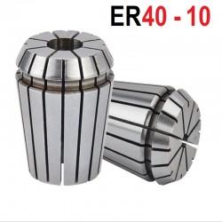 Tuleja zaciskowa ER40 FI 10 tulejka precyzyjna CNC