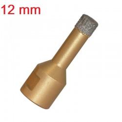 OTWORNICA KORONKA DIAMENTOWA 12mm  M14 wiertło