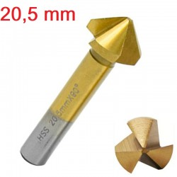Frez pogłębiacz stożkowy fazownik HSS 20,5mm