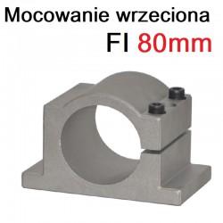 Mocowanie wrzeciona uchwyt CNC 80mm