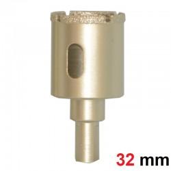 Otwornica diamentowa koronka do gresu 32mm GOLD
