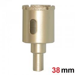 Otwornica diamentowa koronka do gresu 38mm GOLD