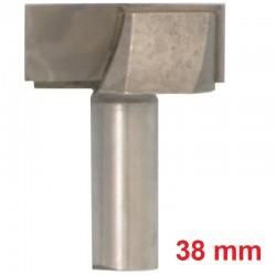 Frez VHM do planowania 38.1 mm / 12.7 mm drewno mdf