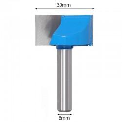 Frez VHM do planowania 30mm chwyt 8mm drewno mdf