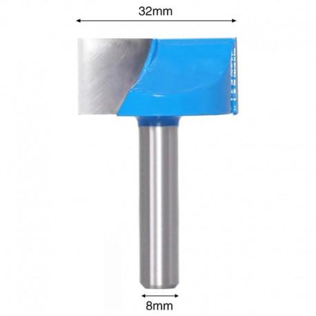 Frez VHM do planowania 32mm chwyt 8mm drewno mdf