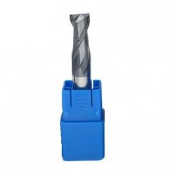 Frez węglik VHM 2p chwyt 4mm TiAlN 45HRC CNC