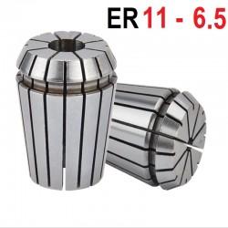 Tuleja zaciskowa ER11 FI 6.5 tulejka precyzyjna CNC