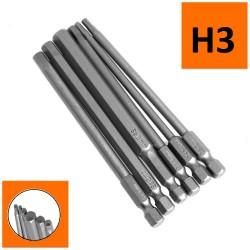 Bity długie magnetyczny HEX H2.5 x 200mm