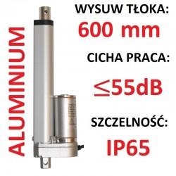 SIŁOWNIK ELEKTRYCZNY 12V SILNIK LINIOWY 350mm 600N