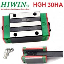 Wózek liniowy HGH 30HA HIWIN Z0 do CNC