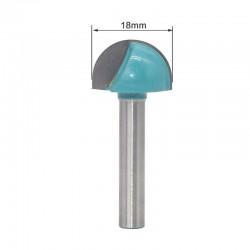 Frez kulisty VHM 3D  18mm chwyt 6mm