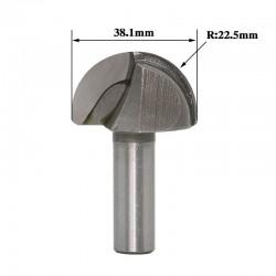 Frez kulisty VHM 3D 38,1mm chwyt 6mm